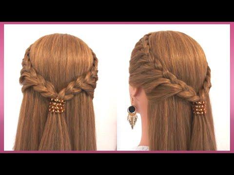 ถักเปียสวยๆ |ทรงผมออกงาน แบบง่าย | Beautiful braid | Simple hairstyle Tutorial Ep43