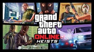 Grand Theft Auto Online Heists - Trailer PC