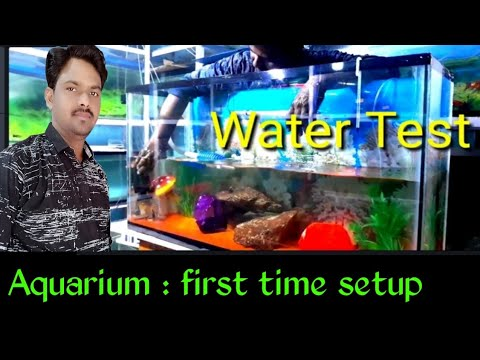 How to Aquarium water clean & Water changing  || AQUARIUM Decoration ideas || water CRISTAL clear
