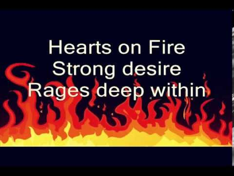 Lyrics To Hearts On Fire By John Cafferty Youtube