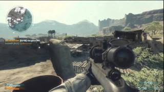 Medal of Honor - Online Gameplay PS3 # 2 - Sniping