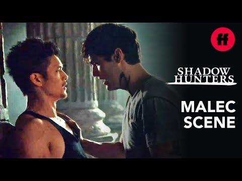 "Shadowhunters | Season 3, Episode 12 Malec Training Scene | Music: Mattis - ""The Chain"""