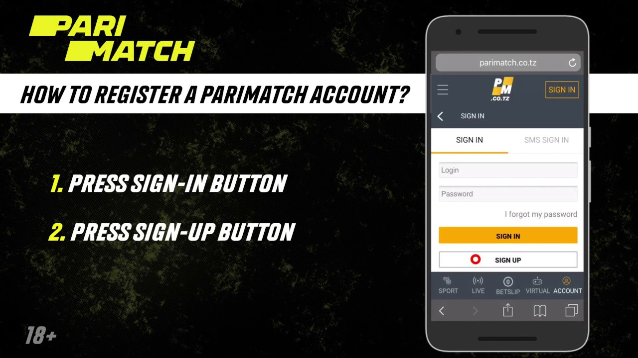 Parimatch mobile betting setup how to bet on f1