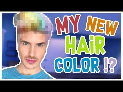 I DYED MY HAIR A BRAND NEW COLOR!