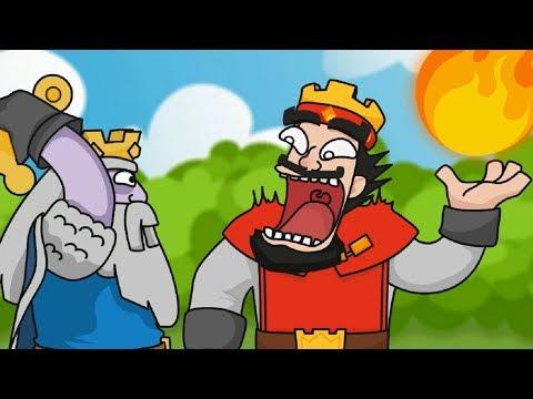Clash Royale Animation #32: Royal Ghost (Parody)