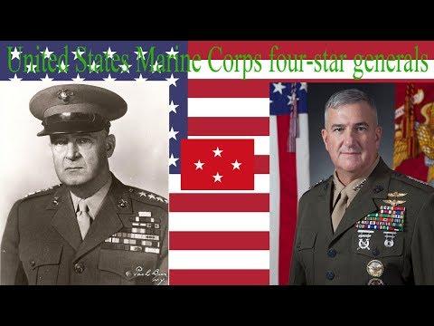 United States Marine Corps four-star generals