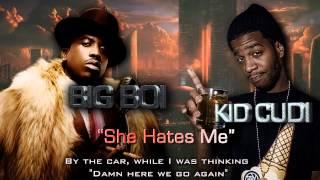 [NEW] Big Boi feat. Kid Cudi - She Hates Me [LYRIC VIDEO]