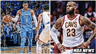 New NBA rule is hurting Russell Westbrook • LeBrons final career goal revealed   NBA News thumbnail
