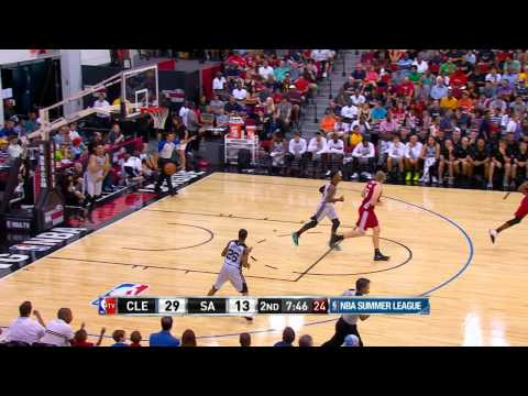 Summer League: Cleveland Cavaliers Vs San Antonio Spurs