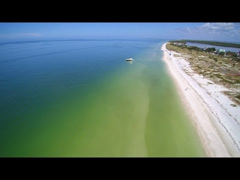 North Clearwater Beach Florida|Beautiful drone view