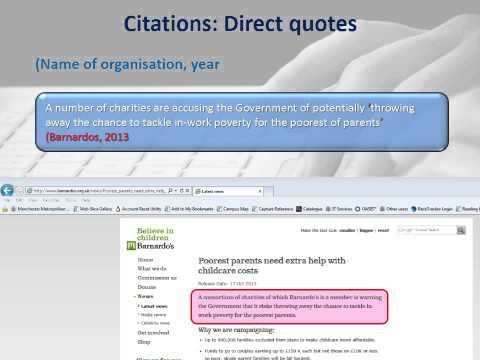 How to cite and reference a webpage where NO author's name is present