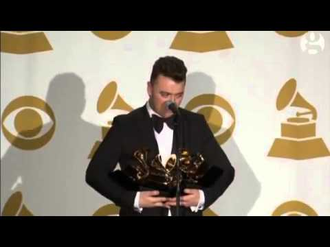 Sam Smith thanks ex boyfriend for Grammy success –video Music