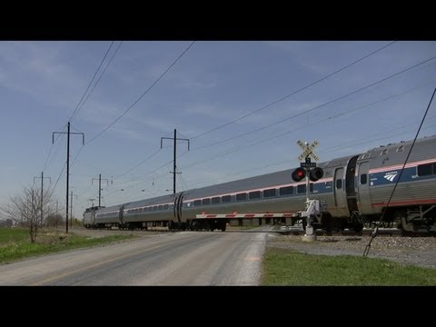 Thumbnail: 80-90 MPH Trains on the Amtrak Harrisburg Line