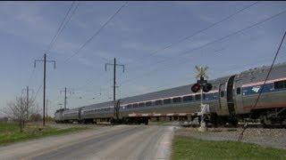 80-90 MPH Trains on the Amtrak Harrisburg Line