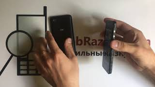 распаковка и краткий обзор ZTE Blade L8
