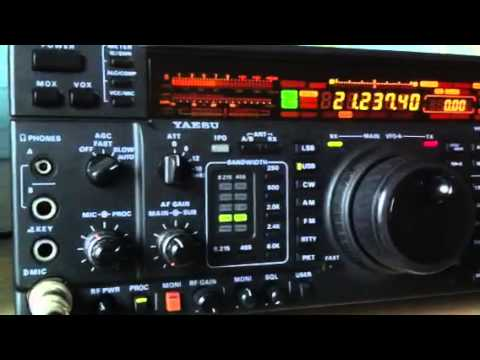 W8UN Californian amateur station Yaesu FT-1000MP Amateur Radio