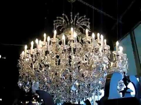 Maria Theresa Crystal Chandelier Dressed With Swarovski Spectra You