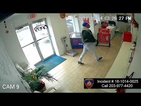 A video of the attempted robbery.