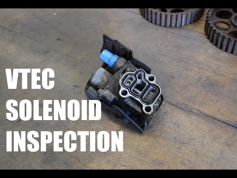 K20A VTEC Solenoid Inspection - TYPE D MOVIES