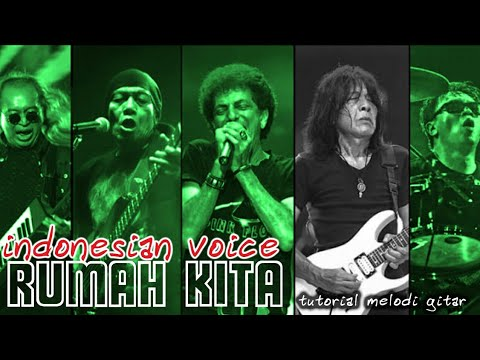 Indonesian Voices - Rumah Kita (guitar solo cover & tutorial)
