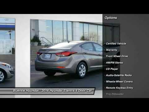 2016 Hyundai Elantra Saint Paul, White Bear Lake, Minneapolis, Inver Grove  Heights MN P47409