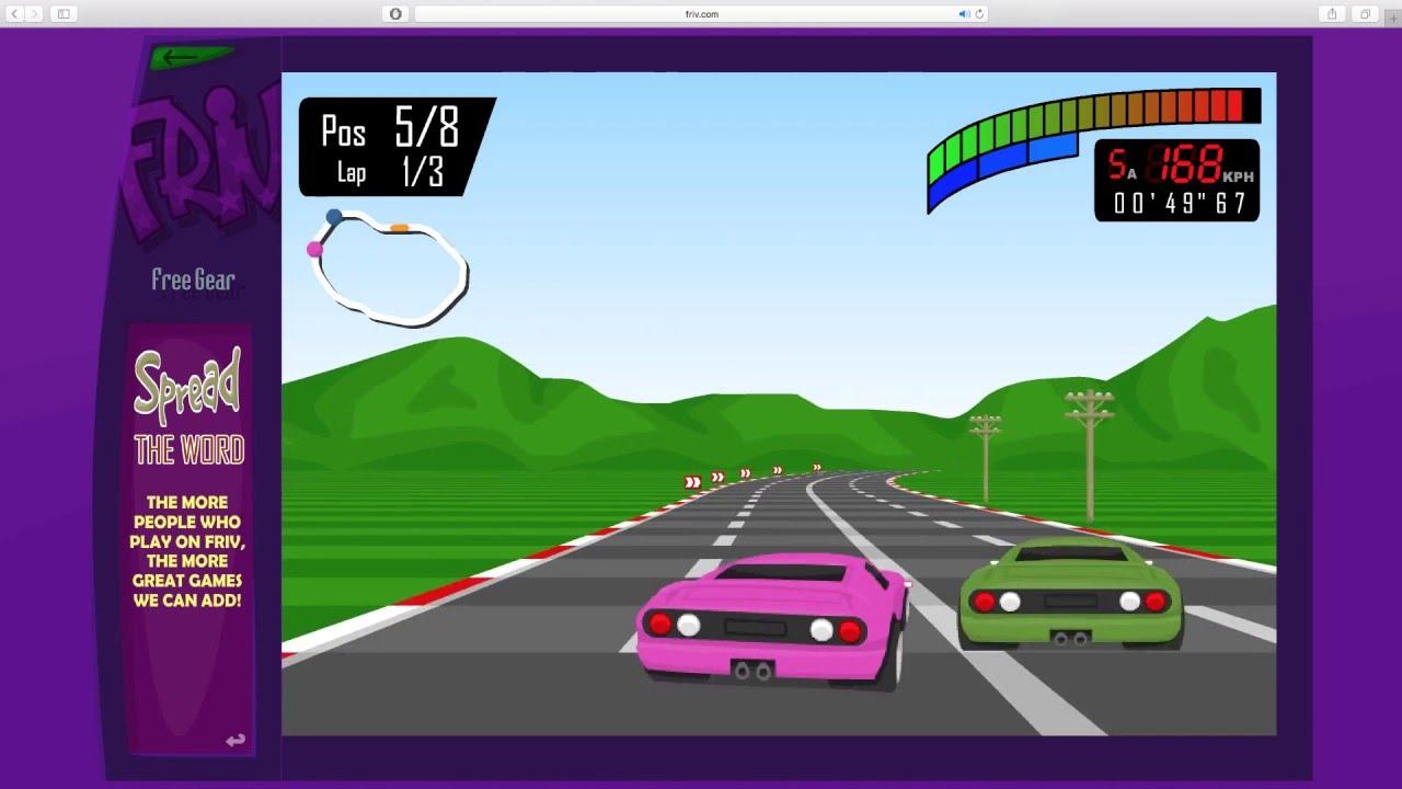 Free Gear Car Racing Game Online