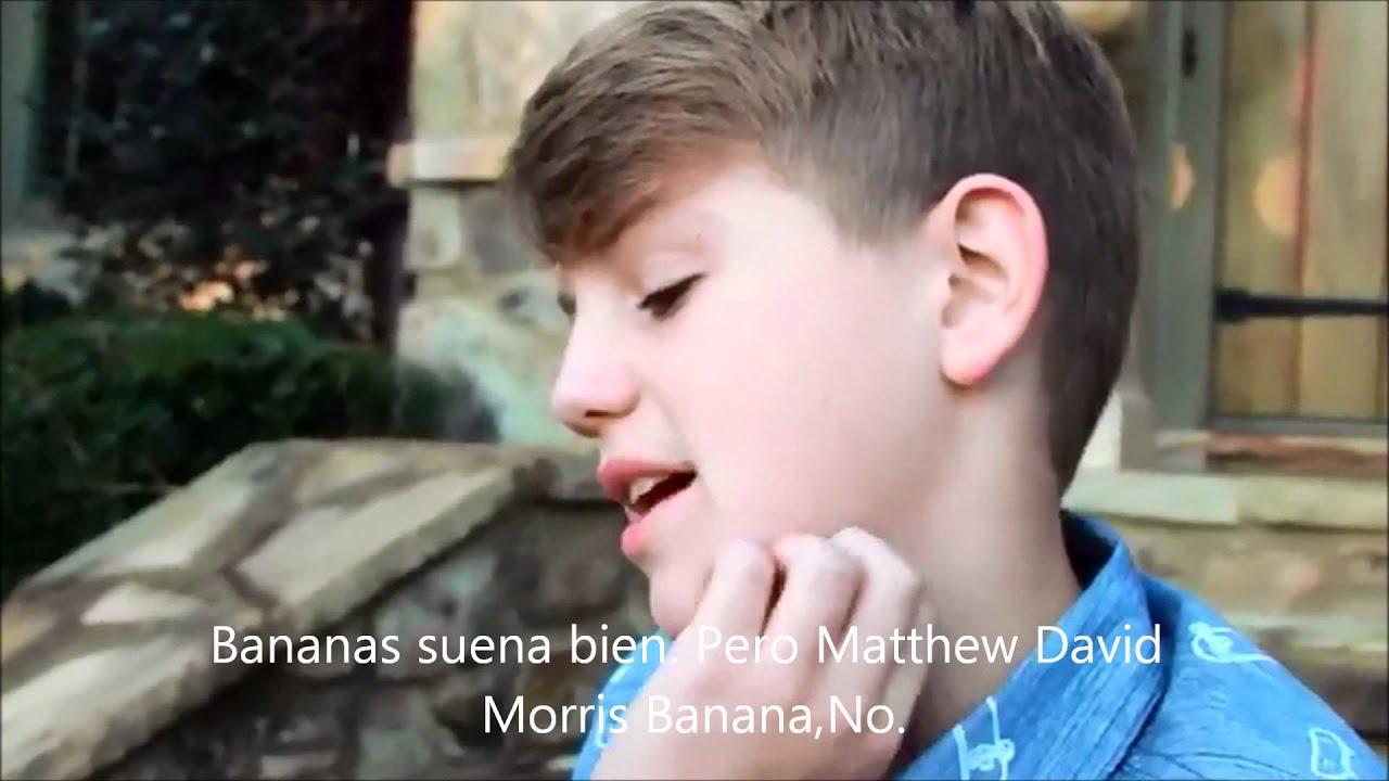 MattyB Q&A Big Trouble Traducido al espa±ol
