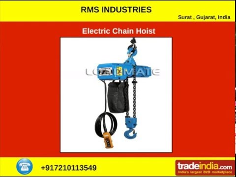 Wire Hoist Manufacturer from RMS Industries | Gujarat