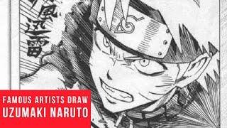 Famous Manga Artists Uzumaki Naruto Drawings