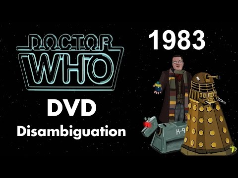 Doctor Who DVD Disambiguation - Season 20 (1983)