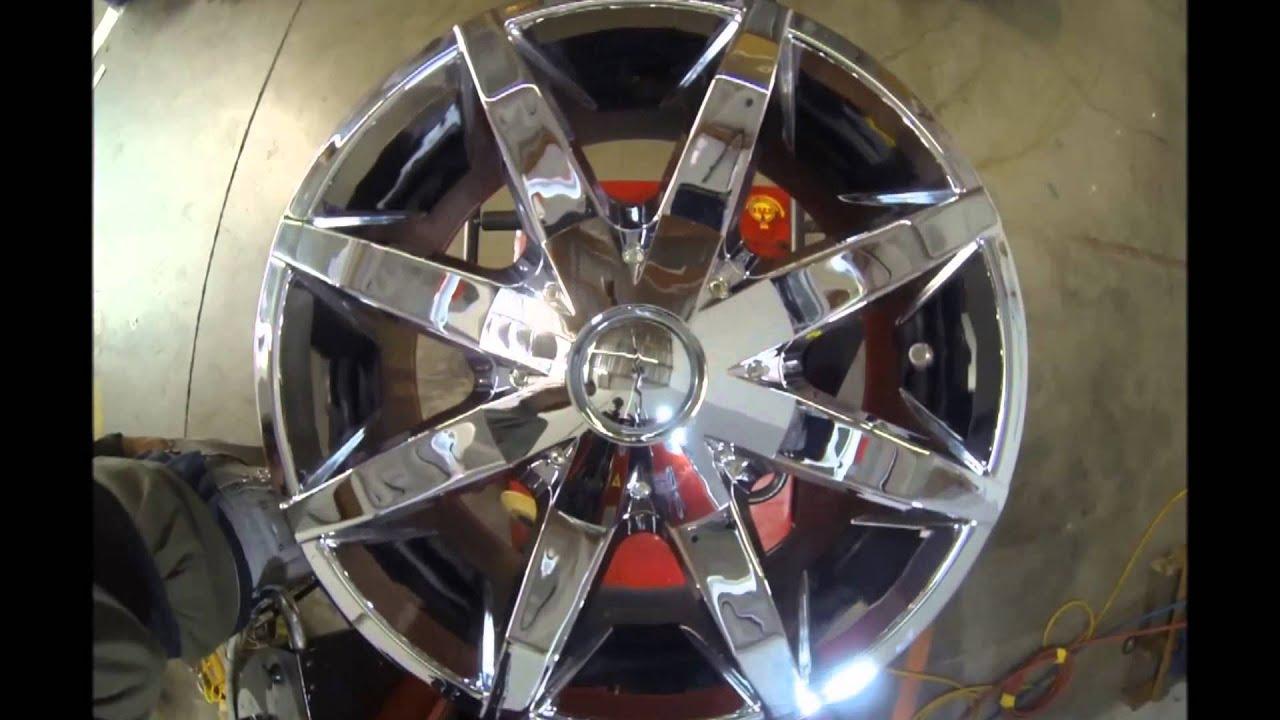 kmc wheels slide chrome youtube