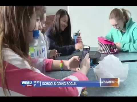WEAU TV13 Schools Going Social