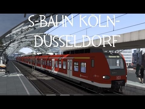 train simulator 2017 s bahn k ln d sseldorf nl youtube. Black Bedroom Furniture Sets. Home Design Ideas