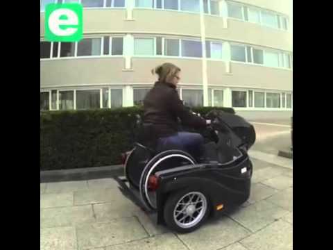 Wheelchair Motorcycle!