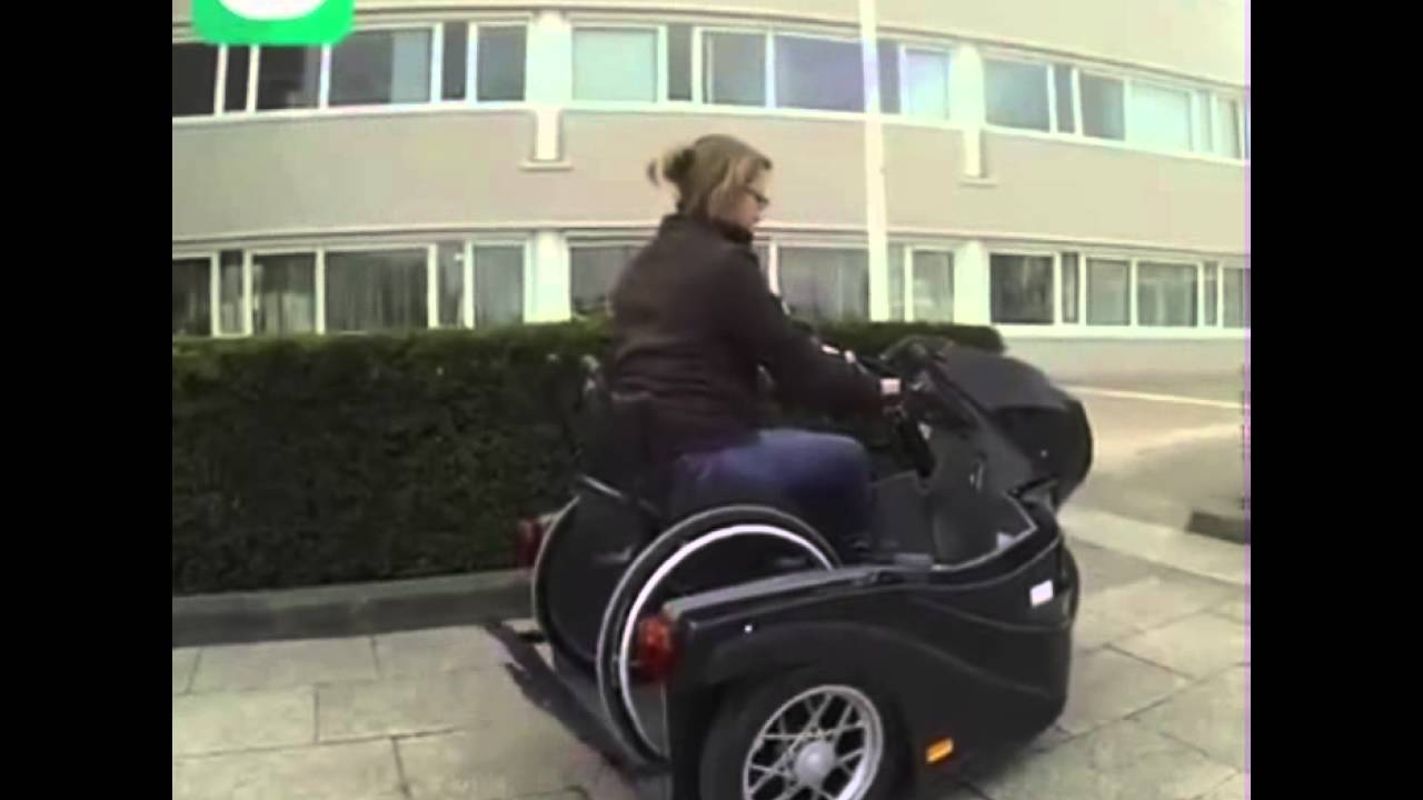 Electric bike adaption for wheel chair youtube - Wheelchair Motorcycle