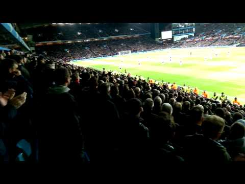 Man united fans 12 cantonas at villa park