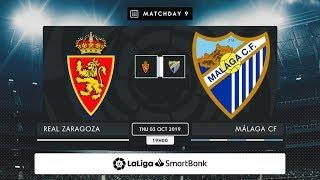 R. Zaragoza - Málaga CF MD9 J1900