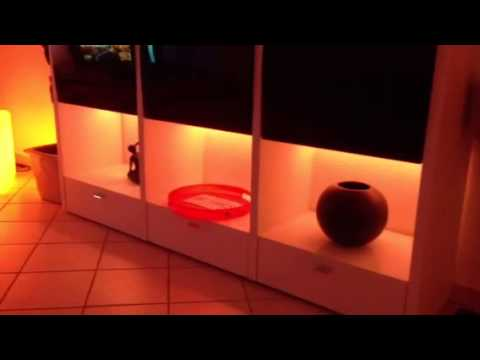philips ambilight hue lightstrips youtube. Black Bedroom Furniture Sets. Home Design Ideas