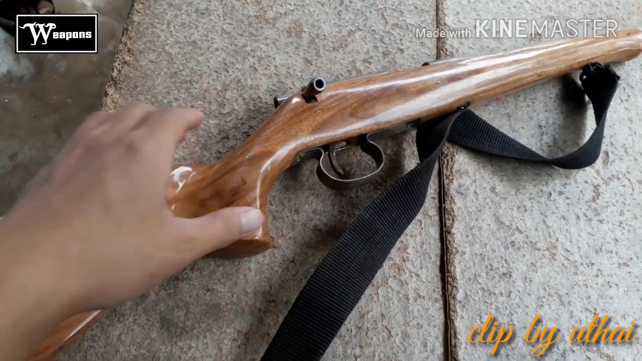 ปืนลูกกรด .22lr ไทยประดิษฐ์ ปืนยอดฮิตสายล่าสัตว์