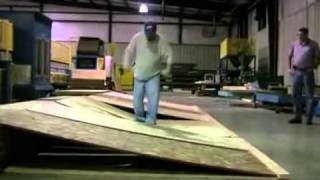 Advantech Vs. Competitor Osb   Plywood Strength Test - Glenbrook U