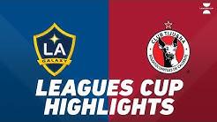 LA Galaxy vs. Club Tijuana | HIGHLIGHTS - July 23, 2019