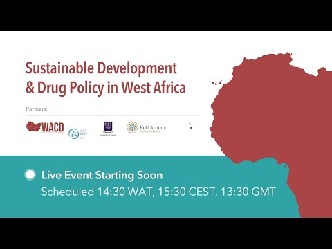 West African Commission on Drugs - live