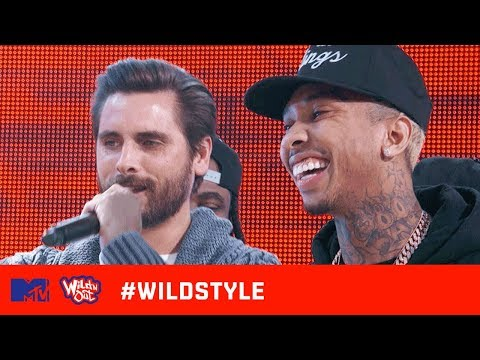 Wild 'N Out | Tyga & Scott Disick Can't Escape the Kardashian Cracks | #Wildstyle