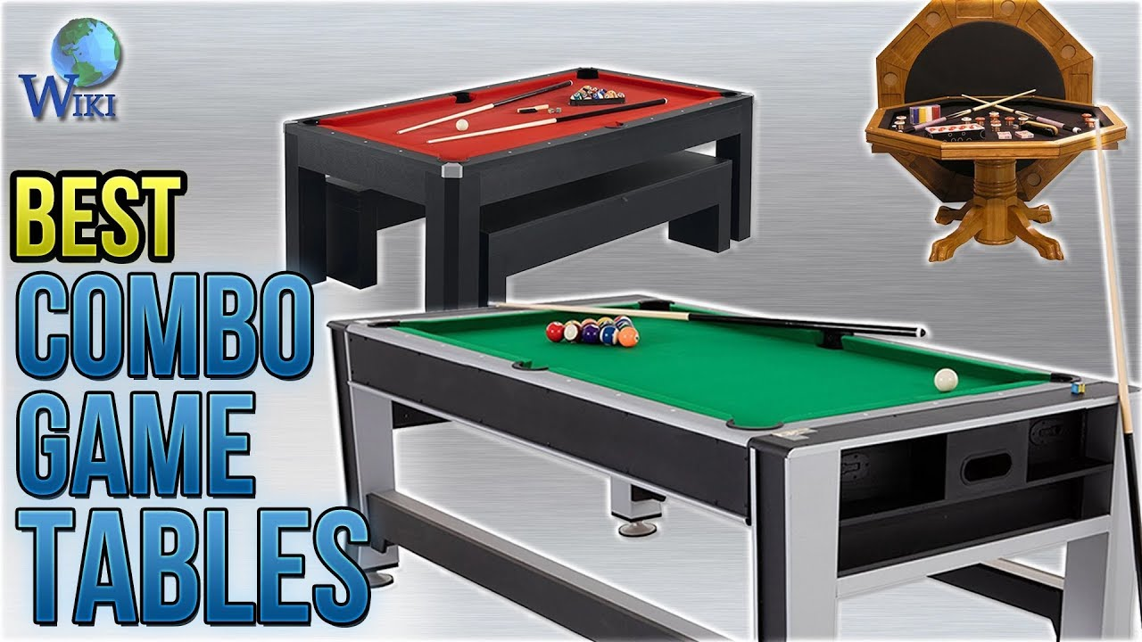 10 Best Combo Game Tables 2018