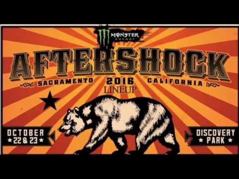 Aftershock Festival 2016 Official Lineup