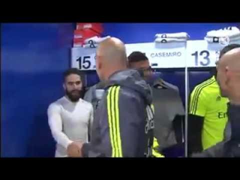 Zidane salue ses nouveaux joueurs ! Real Madrid