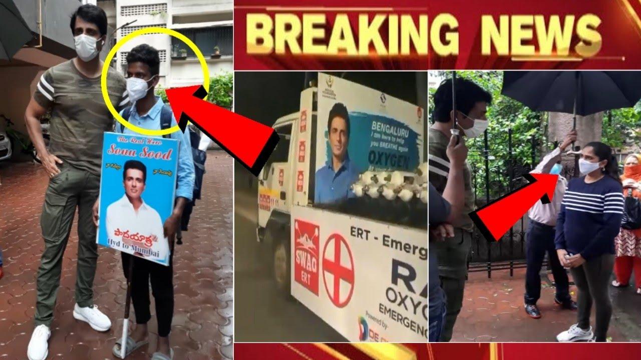 Sonu sood fan Walk 700 Km | sonu sood viral video | sonu sood during corona india