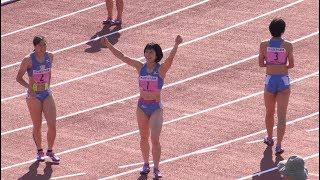 関東インカレ 女子1部100m決勝 2019.5