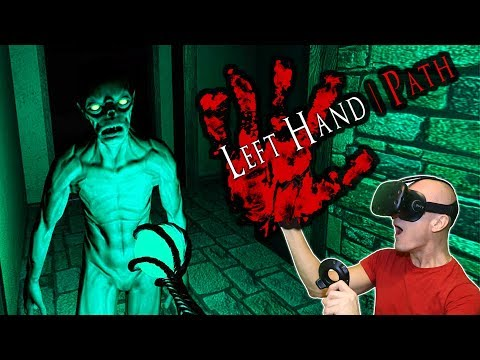AWESOME DARK SOULS INSPIRED HORROR RPG ADVENTURE GAME | Left Hand Path VR Gameplay & Review