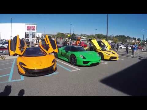 Best car show ever 10/1/17 Cars and Caffe sounds